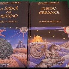Libros de segunda mano: EL TAPÍZ DE FIONAVAR - TOMOS I Y II - GUY GAVRIEL KAY. Lote 122467935