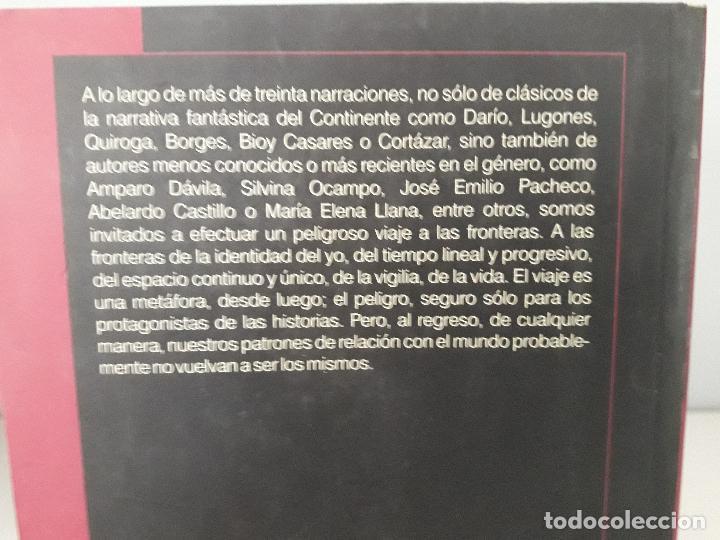 Libros de segunda mano: Relatos Fantásticos Hispanoamericanos- Antología - Foto 2 - 122681279