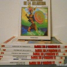 Libros de segunda mano: LA MAQUINA DEL TIEMPO. TIMUN MAS. 6 TOMOS. Lote 122731659