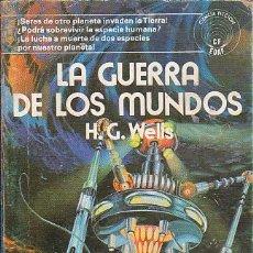 Libros de segunda mano: LA GUERRA DE LOS MUNDOS - H. G. WELLS - EDAF - Nº 22. Lote 122747719