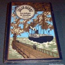 Libros de segunda mano: LIBRO - NOVELA JULIO VERNE: LOS NÁUFRAGOS DEL JONATHAN, 1ª PARTE (RBA 2002). Lote 123061175