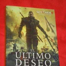 Libros de segunda mano: EL ULTIMO DESEO, SAGA DE GERALT DE RIVIA, DE ANDREJ SAPKOWSKI - ALAMUT 2011. Lote 192215203