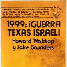Libros de segunda mano: COLECCIÓN CIENCIA FICCION N°6 GUERRA TEXAS ISRAEL 1977. Lote 125211300