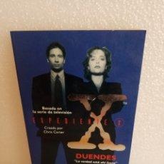 Libros de segunda mano: EXPEDIENTE X-DUENDES-CHARLES GRANT/1ªEDICIÓN ENERO, 1996. Lote 125219422