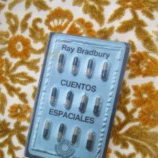 Libros de segunda mano: LIBRO CUENTOS ESPACIALES RAY BRADBURY 1978 ED. LUMEN L-11649-865. Lote 125646975