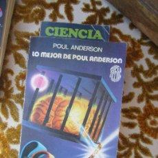 Libros de segunda mano: LIBRO LO MEJOR DE POUL ANDERSON 1982 ED. MARTINEZ ROCA L-17825. Lote 125695007