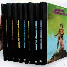 Libros de segunda mano: REVISTA NUEVA DIMENSIÓN. LOTE DE 8 NÚMEROS. AÑO: 1977 - 78. EDICIONES DRONTE. BUEN ESTADO.. Lote 126356399