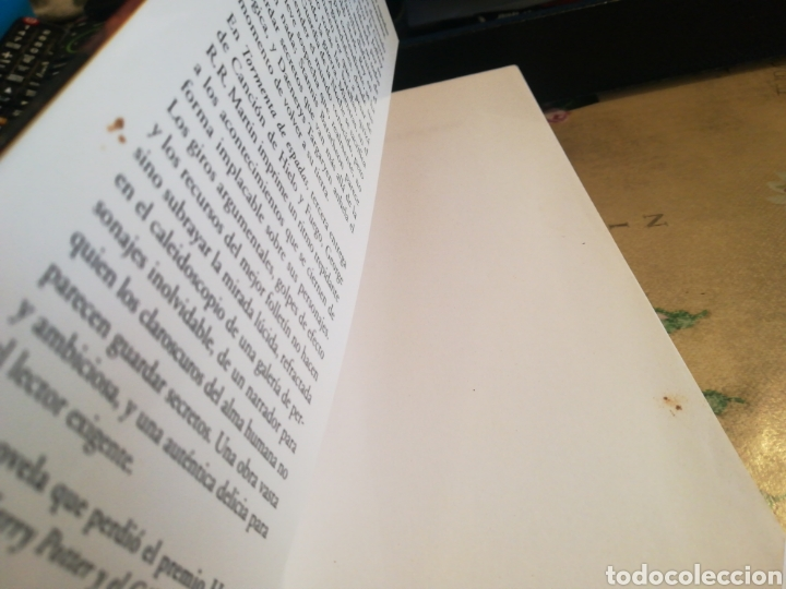 Libros de segunda mano: Tormenta de espadas II. Canción de hielo y fuego 3 - George R.R. Martin - Foto 9 - 126482887