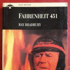 Libros de segunda mano: RAY BRADBURY . FAHRENHEIT 451. Lote 222333578