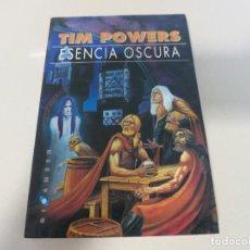 Libros de segunda mano: CIENCIA FICCION ESENCIA OSCURA TIM POWERS GIGAMESH. Lote 127956623