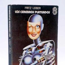 Libros de segunda mano: SUPER FICCIÓN 8. LOS CEREBROS PLATEADOS (FRITZ LEIBER) MARTÍNEZ ROCA, 1976. Lote 128354026