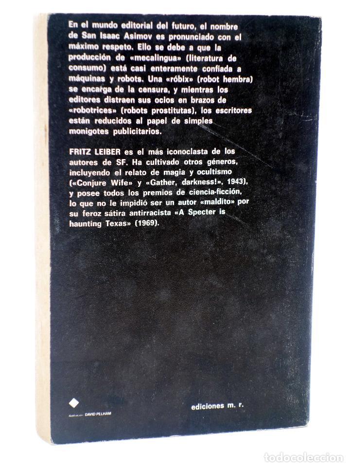 Libros de segunda mano: SUPER FICCIÓN 8. LOS CEREBROS PLATEADOS (Fritz Leiber) Martínez Roca, 1976 - Foto 2 - 128354026
