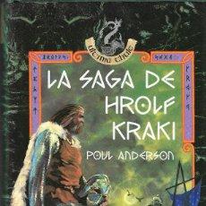 Libros de segunda mano: LA SAGA DE HROLF KRAKI - POUL ANDERSON - ULTIMA THULE - EDITORIAL ANAYA - 1ª EDICIÓN, 1993.. Lote 128803763