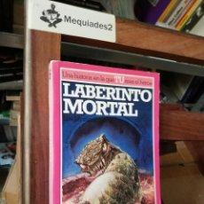 Libros de segunda mano: ALTEA JUNIOR: LUCHA FICCIÓN Nº 6 : LABERINTO MORTAL (LIBROJUEGO). Lote 128922743