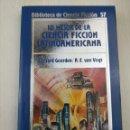 Libros de segunda mano: BIBLIOTECA DE CIENCIA FICCIÓN ORBIS 57 LO MEJOR DE LA CIENCIA FICCION LATINOAMERICANA. Lote 128944227