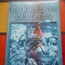 Libros de segunda mano: LIBRO DE WARHAMMER LA TORMENTA DEL CAOS.. Lote 129003299