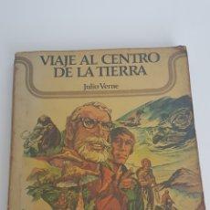 Libros de segunda mano: LIBRO VIAJE AL CENTRO DE LA TIERRA. JULIO VERNE. VERÓN EDITOR 1975. Lote 129610923