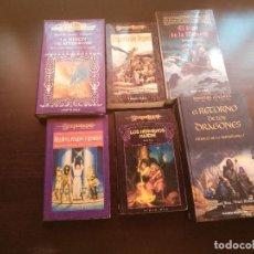 Libros de segunda mano: LOTE LIBROS DE FANTASIA. Lote 129650579