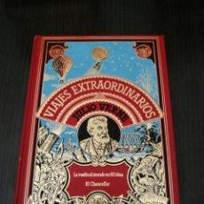 Libros de segunda mano: JULIO VERNE - LA VUELTA AL MUNDO EN 80 DÍAS / EL CHANCELLOR - VIAJES EXTRAORDINARIOS - 1982. Lote 129679054