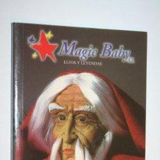 Libros de segunda mano: ELFOS Y LEYENDAS *** LIBRO A 4 IDIOMAS (ESP / FR / ING / ALEMAN) *** MAGIC BABY (2000). Lote 130387522