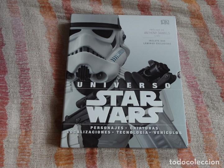 UNIVERSO STAR WARS (DK) - TAPA DURA (Libros de Segunda Mano (posteriores a 1936) - Literatura - Narrativa - Ciencia Ficción y Fantasía)