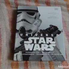 Libros de segunda mano: UNIVERSO STAR WARS (DK) - TAPA DURA. Lote 130638918
