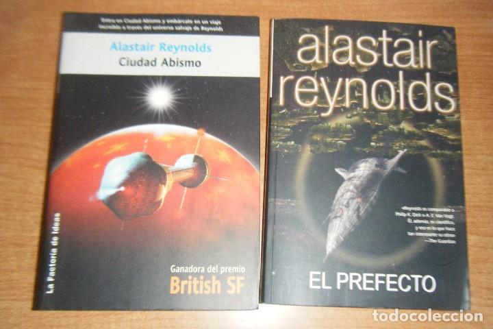 CIUDAD ABISMO EL PREFECTO, ESPACIO REVELACION 2 5 SOLARIS FICCION FACTORIA IDEAS ALASTAIR REYNOLDS segunda mano