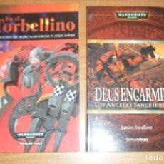 Libros de segunda mano: EN EL TORBELLINO, DEUS ENCARMINE LOS ANGELES SANGRIENTOS 1, WARHAMMER 40.000 TIMUN MAS RUSTICA. Lote 131075028