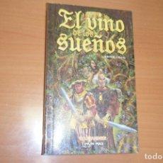 Libros de segunda mano: EL VINO DE LOS SUEÑOS, WARHAMMER, BRIAN CRAIG, TIMUN MAS EN RUSTICA. Lote 131076096