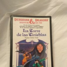 Libros de segunda mano: DUNGEONS AND DRAGONS AVENTURA SIN FIN N°12. Lote 131354367