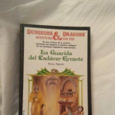 Libros de segunda mano: DUNGEONS AND DRAGONS AVENTURA SIN FIN N°11. Lote 131354614