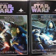 Libros de segunda mano: STAR WARS PLANETA DE AGOSTINI MEDSTAR I Y II MEDICOS DE GUERRA . Lote 131364746
