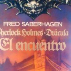 Libros de segunda mano: EL ENCUENTRO DE FRED SABERHAGEN (TIMUN MAS). Lote 131373514