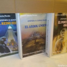 Libros de segunda mano: TRILOGIA SEGUNDAS CRÓNICAS DE THOMAS COVENANT , DE STEPHEN R. DONALDSON. Lote 131652559