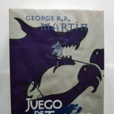 Libros de segunda mano: JUEGO DE TRONOS - GEORGE R.R. MARTIN - TAPA DURA. Lote 131734361