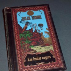 Libros de segunda mano: LIBRO - NOVELA JULIO VERNE: LAS INDIAS NEGRAS (RBA 2002). Lote 131937250