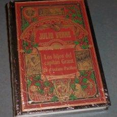 Libros de segunda mano: LIBRO - NOVELA JULIO VERNE: LOS HIJOS DEL CAPITÁN GRANT EN EL OCÉANO PACÍFICO (RBA 2002). Lote 131982390