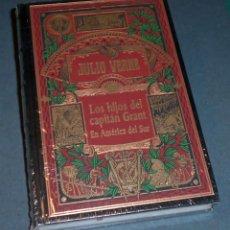 Libros de segunda mano: LIBRO - NOVELA JULIO VERNE: LOS HIJOS DEL CAPITÁN GRANT EN AMÉRICA DEL SUR (RBA 2002). Lote 131982470