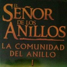 Libros de segunda mano: EL SEÑOR DE LOS ANILLOS. LA COMUNIDAD DEL ANILLO I. TOLKIEN.. Lote 132039163