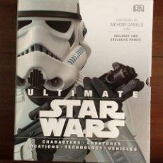 Libros de segunda mano: ULTIMATE STAR WARS - ENCICLOPEDIA VISUAL - TODO EL UNIVERSO STAR WARS. Lote 132114078