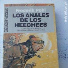 Libros de segunda mano: CIENCIA FICCION ULTRAMAR Nº 69 - FREDERIK POHL - SAGA DE HEECHEE 4 - LOS ANALES DE LOS HEECHEES. Lote 132522018