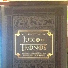 Libros de segunda mano: JUEGOS DE TRONOS. EL LIBRO OFICIAL. Lote 132576890