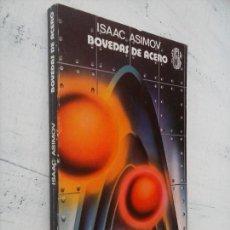 Libros de segunda mano: ISAAC ASIMOV - BOVEDAS DE ACERO - SUPER FICCION Nº 48 - 1979 MARTÍNEZ ROCA. Lote 132766514