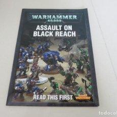 Libros de segunda mano: ASSAULT ON BLACK REACH WARHAMMER 40000 GAMES WORKSHOP. Lote 132784790