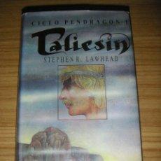 Libros de segunda mano: TALIESIN - CICLO PENDRAGON 1 (STEPHEN L. LAWHEAD). Lote 133670898