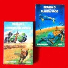 Libros de segunda mano: DRAGÓN 5, NÚMEROS 1 Y 2 DE BRIAN EARNSHAW, EDITORIAL NOGUER 1981, PRIMERA EDICIÓN. Lote 133856954