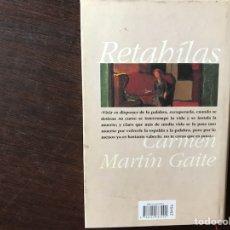 Libros de segunda mano: RETAHÍLAS. CARMEN MARTÍN GAITE. Lote 133986427