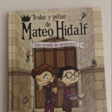 Libros de segunda mano: TROLAS Y PIFIAS DE MATEO HIDALF UNA ESCUELA DE CEREBRITOS CHRISTOPHE MAURI. Lote 134249985