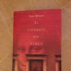 Libros de segunda mano: EL CÓDIGO DA VINCI (DAN BROWN) UMBRIEL. Lote 134543191