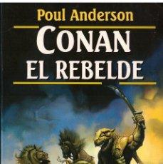 Livres d'occasion: NOVELA CONAN EL REBELDE - ROBERT JORDAN; MARTINEZ ROCA FANTASY, Nº 62. Lote 186358806